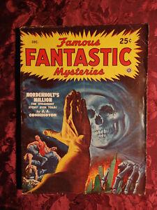 FAMOUS FANTASTIC MYSTERIES December 1948 J. J. CONNINGTON EDWARD S. SULLILVAN