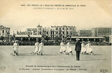CARTE POSTALE / CLERMONT FERRAND GYMNASTIQUE DES INSTITUTRICES DE GENES