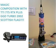TTI 775 CB Radio Plus TURBO 2002 Scottish Flag Antenna 2000 Watt PEP Truck Van