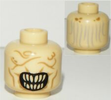 LEGO LORD OF THE RINGS MOUTH OF SAURON MINIFIGURE TAN HEAD PART X1 LOTR