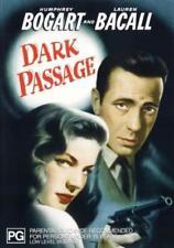 Dark Passage DVD Humphrey Bogart 1947 Film Noir Lauren Bacall RARE MOVIE OOP