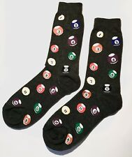 Pool Ball Mens Happy Colourful Dress Business Cotton Socks size 7-11 Mr1421
