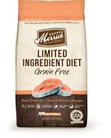 Merrick Dry Dog Food with Vitamins & Minerals for All Breeds  4 lb Salmon