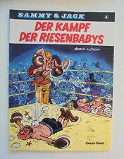 Sammy & Jack Nr.4 Der Kampf der Riesenbabys 1.Auflage Carlsen Verlag Z.1-2