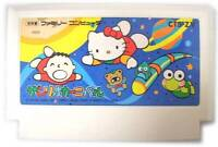 """ SANRIO CARNIVAL "" FAMICOM NES FC HELLO KITTY KEROPPI JAPAN"