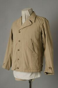 VTG 1940s WWII US Army M41 Field Jacket Conmar Zipper