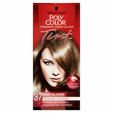 SCHWARZKOPF POLY COLOR TINT DARK BLONDE 37 CREAM COLOUR