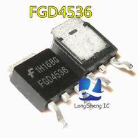 10PCS FGD4536 Encapsulation:TO-252 new