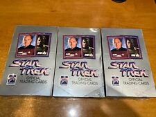 Star Trek Official Trading Cards 25 Anniversary Impel Factory Sealed Box's X 3