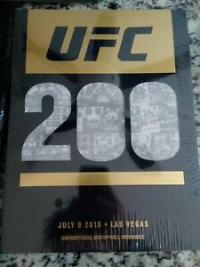 UFC 200 official Program Sealed with original bag and contents