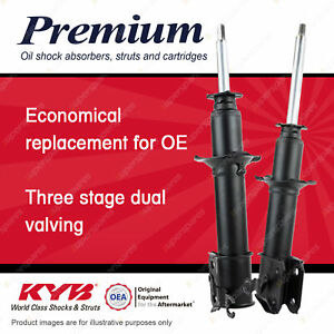 2x Front KYB Premium Strut Shock Absorbers for Daihatsu Mira L200S