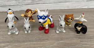 Paw Patrol Rare Toy Figure Bundle Chickaletta, Danny Bear, Apollo, Rabbits