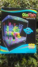 GloFish 1.5 Gallon Aquarium Kit With Hood, LEDs And Whisper Filter