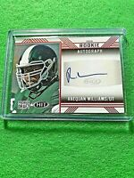 RAEQUAN WILLIAMS AUTO ROOKIE CARD EAGLES RC RED AUTO 2020 SAGE HIT PREMIER DRAFT