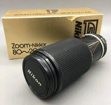 Nikon Nikkor AI-S 80-200mm f4 Lens 80-200/4 AIS - Fast Free Shipping - H08