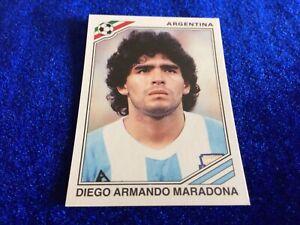 Diego Maradona Football Sticker Argentina 1986 World Cup Story 1990 #171