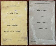 More details for british railways eastern region staff training school, ilford. 2 books 1966 & 67