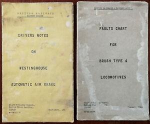 British Railways Eastern Region Staff Training School, Ilford. 2 Books 1966 & 67