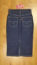 Levis Vintage Clothing LVC Raw Rigid Denim 1960's Slim Pencil Skirt £185 New USA