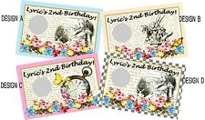 ORIGINAL TRULY ALICE MAD HATTERS SCRATCH OFFS CARDS BIRTHDAY PARTY GAME FAVORS