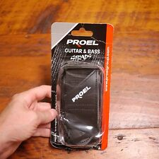 PROEL Italy Guitar Bass Black Nylon Strap
