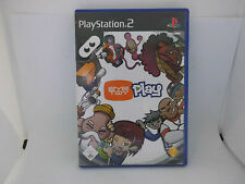 PS2 PlayStation2 Eye Toy play Spiel: Play DVD 12 total verrückte Spiele