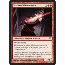 MTG DARK ASCENSION * Markov Blademaster - Condition: Excellent