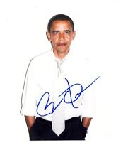 Barack Obama Signed Autographed 8x10 Photograph ( 44th President )