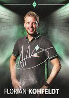 Florian Kohfeldt (Trainer) + Werder Bremen + Saison 2015/2016 + Autogrammkarte +