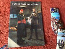 Sammelalbum: Karl May Durchs wilde Kurdistan II - vollständig, neuwertig, EIKON