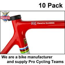 10x personalizzato telaio della bicicletta Nome Adesivi Decalcomanie + flag. l'originale e migliore!