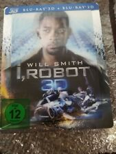 I, ROBOT STEELBOOK [NEW/OOP/3D+2D] Germany Import/Region Free