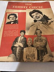Lot Of 8 The Family Circle Magazine 1940 To 1944