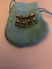 Tiffany & Co Silver Brief Case Briefcase Cufflinks Cuff Links Link