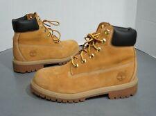 "Timberland 6 "" Boots 12909 Juniors Sz 4 ~ 200 Gram Primaloft Waterproof Tan Boys"
