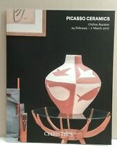 CATALOGUE DE VENTE CHRISTIES PICASSO CERAMICS LONDRES 24.02.2017