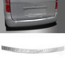 Rear Trunk Bumper Pad Chrome Molding Garnish for KIA 2007 - 2018 Starex iMax H1