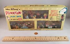 Marx Disney Miniatures Disneykins Pinocchio Triple Playset (Hand Painted - 1962)