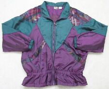 Energy Zone Jacket Green Purple WoMens Choice Woman Coat Size Extra Large 18
