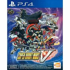 PS4 Super Robot Wars V (Asian English) ASIA EXCLUSIVE | BRAND NEW AND SEALED