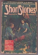 Short Stories Sep 25 1944 Pulp Bedford-Jones Shaftel Hendryx Cox Pierce Martin