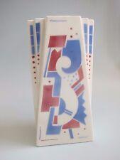 Luneville Art Deco Vase French Pottery Vintage