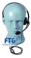 Headset, cuffia unilaterale, per Motorola dp1400, CP 040, GP 300, GP 600,