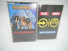Lot of 2 Killer Dwarfs Cassette Tapes Stand Tall Dirty Weapons COOL