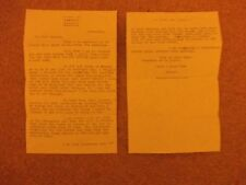 Birmingham and Llandudno Trams 1953 mentioned in letters by Morris Electric Ltd