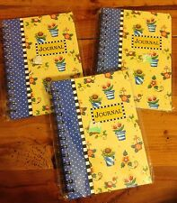 Mary Engelebreit Journals, Set Of 3, New In Wrappers 80 Pages Each