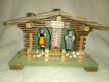 Vintage Bambi Handmade Weather House