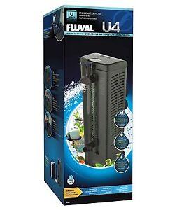 Fluval U4 Internal Filter Aquarium Fish Tank 130L - 240L 1000L/h Fast Delivery