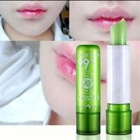 Lip Care Moisture Melt Lip Balm Long-Lasting Change Color lipstick Aloe Makeup