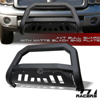 For 2002/2003-2009 Dodge Ram Matte Black AVT Edge Bull Bar Brush Bumper Guard